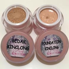 Beli Paket Bedak Dan Foundation Kinclong Ynz Skincare Secara Angsuran