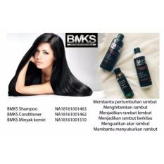 Beli Paket Bmks Shampo Conditioner Minyak Kemiri Murah Jawa Barat