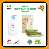Paket Body Wash Healthy Complit Asli