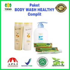 Paket Body Wash Healthy Complit Tiens Supplement Murah Di Indonesia