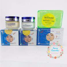 Toko Paket Cream Deoonard Blue 7 Days 25Gr Krim Deoonard Biru Sabun Hujau Anti Septic Online Jawa Barat