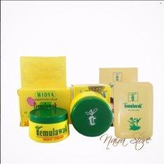 Paket Cream Temulawak Original Hologram Super- Paket Komplit ( Cream, Sabun dan Bedak ) 3 Iten