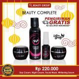 Spesifikasi Paket Cream Wajah Glowing Skincare Terbaik Extra Whitening Pemutih Wajah Aura Beauty 100 Bpom Resmi Beserta Harganya