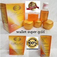 Toko Paket Cream Walet Super Gold Premium Whitening Anti Aging Paket 5 In 1 Loh Whitening Soap Toner Anti Alergi Day Cream Night Cream Pemutih Pencerah Wajah Termurah