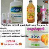 Jual Paket Face Care Toner Cuka Apel Cetaphil St Ives Scrub Murah Bragg Murah