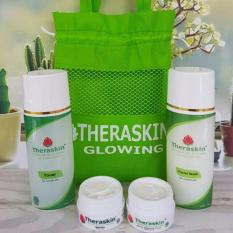 Theraskin Paket Glowing ORIGINAL THERASKIN BPOM mencerahkan wajah lebih cepat