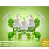 Beli Paket Hair Removal Liquid Perontok Bulu Isi 3 Btl Green Angelica Produk Penghilang Bulu Terampuh Online Murah