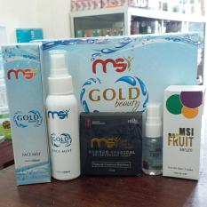 Beli Paket Kecantikan Msi Msi Gold Beauty Face Mist Msi Fruit Serum Msi Sabun Bamboo Charcoal Kredit Bali