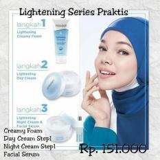 Daftar Harga Paket Kosmetik Wardah Lightening Series 3 Langkah Mudah Cantikmu Wardah Cosmetics