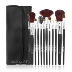 Promo Paket Kuas Make Up 12 Pcs Makeup Brush Set Dompet Macbrush Akhir Tahun