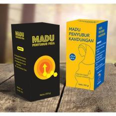 Paket Madu Penyubur Kandungan PASUTRI AL MABRUROH / Madu Program Kehamilan (Kesuburan Kandungan Wanita dan Penyubur Pria)