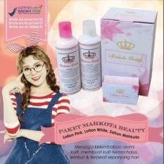 Jual Paket Mahkota Beauty Bpom Sabun Lotion Siang Lotion Malam Di Dki Jakarta