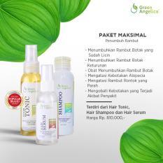 Jual Paket Maximal Penumbuh Rambut Dan Perawatan Rambut Rontok Green Angelica