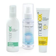 Jual Beli Paket Melanox Uv Protection Cleansing Gel Bonus Skin Toner Baru Indonesia