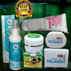 Beli Paket Msi Ion Silver Msi F*c**l Scrub Msi Sabun Collagen Cream Al Ghuroba Pakai Kartu Kredit