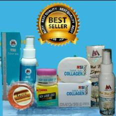Paket Msi Ion Silver+Msi Sabun Collagen +Sabun Gove+Cream Gamat +Msi Biospray