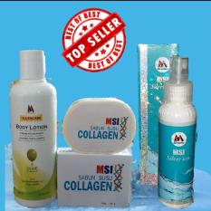 Jual Paket Msi Ion Silver Sabun Collagen Body Lotion Msi Original Murah