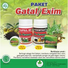 Paket Obat Herbal Eksim Kering Dan Basah Herbal De Nature