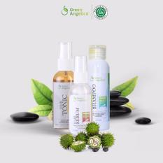 Spesifikasi Paket Obat Uban Ampuh Menghitamkan Uban Penghitam Rambut Uban Bukan Semir Green Angelica Yg Baik