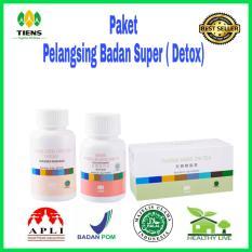 Jual Paket Pelangsing Super Detox Tiens Supplement Murah