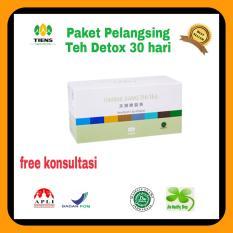 Paket Pelangsing Teh Detox 30 Hari Indonesia