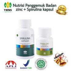 Spesifikasi Paket Penggemuk Badan Super Zinc Spirulina Yg Baik