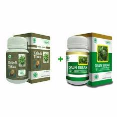 Paket Pengobatan Kanker Tumor Keladi Tikus Dan Ekstrak Kulit Manggis Hiu Herbal Diskon 40