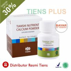 Promo Paket Peninggi Badan Herbal Alami Tiens Nutrient High Calcium Powder Nhcp Zinc Capsule Original Gratis Member Card Dan Gift By Tiens Plus Tiens