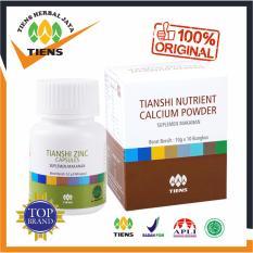 Paket Peninggi Badan Herbal Alami TIENS - Nutrient High Calcium Powder (NHCP) & Zinc