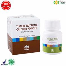 Jual Paket Peninggi Badan Nutrient Calcium Powder Zinc Branded