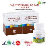 Paket Peninggi Badan Tiens 2 Nutrient Hight Calsium Powder Dan 1 Zinc Diskon Jawa Timur