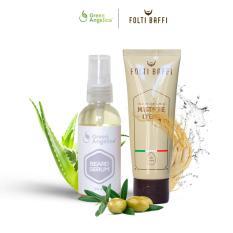 Jual Paket Penumbuh Brewok Bersertifikasi Halal Dan Bpom Green Angelica Grosir
