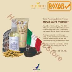 Jual Paket Penumbuh Jenggot Brewok Kumis Lengkap Folti Baffi Dan Beard Serum Herbal 100 Asli Ampuh Online Jawa Timur