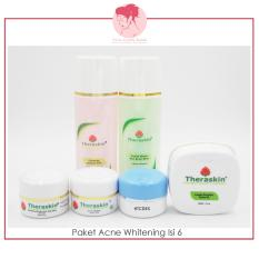 Jual Beli Paket Perawatan Acne Whitening Isi 6 Theraskin Gerai Cantik Bunda