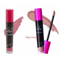 Paket Pixy Lip Cream No 01 Chic Rose Dan 09 Glam Coral Pixy Diskon 30