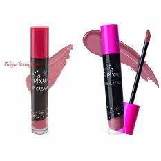 Jual Paket Pixy Lip Cream No 01 Chic Rose Dan 10 Sweet Choco Murah Jawa Timur