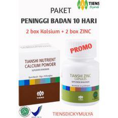Spesifikasi Paket Promo Peninggi Badan Nhcp Zinc 2 Box Kalsium Dan 2 Box Zinc Paling Bagus