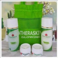 Beli Paket Set Theraskin Glowing Cream Pemutih Siang Dan Malam Ori Bpom Lengkap