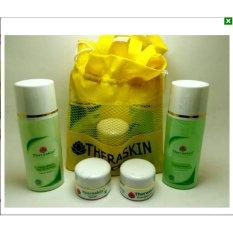 paket theraskin acne 4in1 original -1 pAKET Dapat Tas Cantik