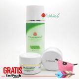 Jual Beli Paket Theraskin Acne Glow Memutihkan Dengan Efek Glowing Jerawat Sedang Untuk Kulit Normal Theraskin Acne Whitening Gratis Pouch