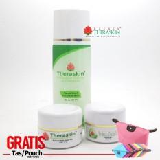 Jual Paket Theraskin Acne Jerawat Parah Dan Merata Untuk Kulit Normal Theraskin Rapid Acne Gratis Pouch Grosir