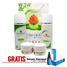 Toko Paket Theraskin Flek Tebal Dan Parah Paket Theraskin Untuk Atasi Flek Hitam Bandel Gratis Serum Vitamin C Collagen Terlengkap Jawa Barat
