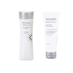Harga Paket Wardah White Secret Pembersih Wajah 2Pcs Origin