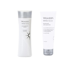 Spesifikasi Paket Wardah White Secret Pembersih Wajah 2Pcs Murah