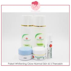 Spek Paket Whitening Glow Normal Theraskin Gerai Cantik Bunda