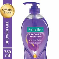 Spesifikasi Palmolive Aroma Therapy Absolute Relax Shower Gel Sabun Mandi Gel 750Ml Colgate