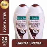 Harga Palmolive Body Butter Coconut Scrub Body Wash Sabun Mandi 400Ml 2Pcs Merk Palmolive