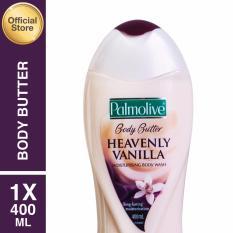 Cara Beli Palmolive Body Butter Heavenly Vanilla Body Wash Sabun Mandi 400Ml