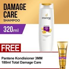 Spesifikasi Pantene Shampoo 340Ml Total Damage Care Free Pantene Conditioner 3Mm 180Ml Total Damage Care Yang Bagus Dan Murah