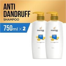 Jual Pantene Shampoo Anti Dandruff Quantum 750Ml Pack Of 2 Branded Original